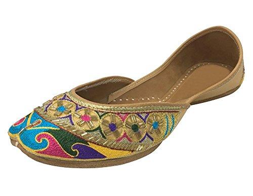 Style Dress Punjabi Embroidered Payel N Jutti Step Khussa Shoes Cwx5FnZ