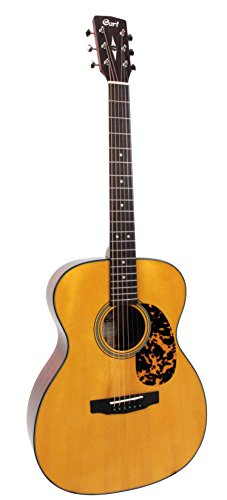 Cort L300VF NAT Luce Series Acoustic-Electric Guitar OM Body