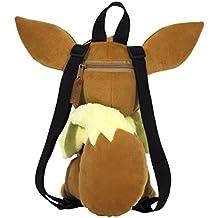 Pokémon Eevee Plush 15 inch Backpack, Brown