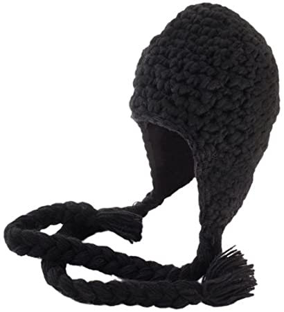 09e1bd50215ca4 Amazon.com : Nirvanna Designs CH306 Long Tassel Earflap Hat with ...