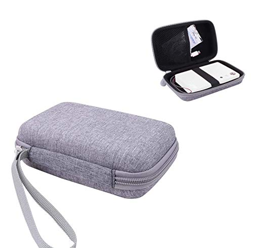 Aenllosi Hard Carrying Case for Polaroid Mint Instant Camera & Printer (Grey)