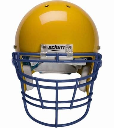 Schutt Navy Reinforced Jaw and Oral Protection (RJOP-XL-DW) Full Cage Football Helmet Face Guard from