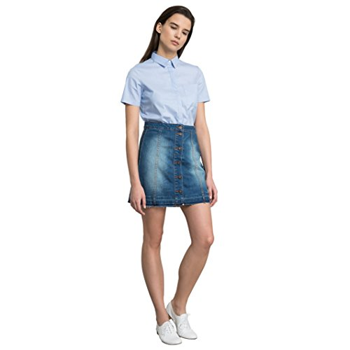 tom-tailor-womens-denim-skirt-with-frayed-edging-blue-size-s