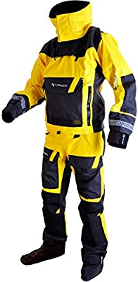 Typhoon 2017 Mens PS330 Kayak/Ocean Drysuit + Con Zip + ...