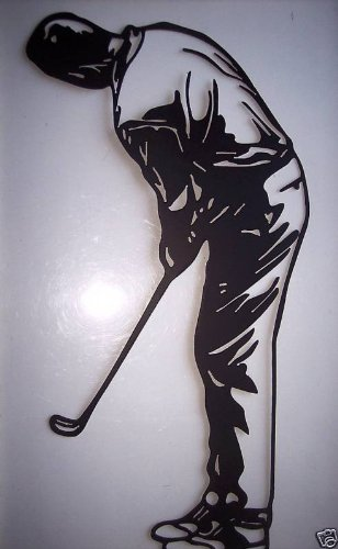 ll Art Sports Golf Decor (Sports Metal Art)