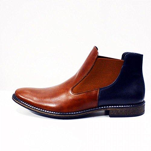 Modello Castellammare di Stabia - Cuero Italiano Hecho A Mano Hombre Piel Vistoso Zapatos Vestir Oxfords - Cuero Cuero suave - Encaje
