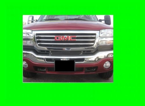 312Motoring GMC SIERRA 2003-2006 CHROME GRILLE GRILL KIT 2004 2005 03 04 05 06 1500 2500 3500 SLT SLE Z71 - Truck Grill 3500 Chrome