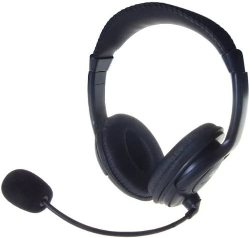 Computer Gear Multimedia Stereo Headset with Boom Microphone