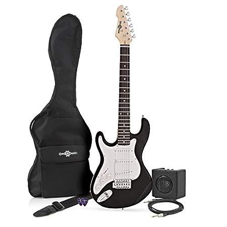 3/4 LA Electric Guitar + Miniamp, Pink Gear4music