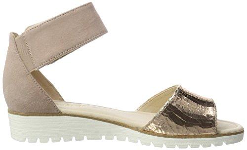 Gabor Women's Fashion Wedge Heels Sandals Yellow (Rame/Antikrosa 64) ByoTRsfu