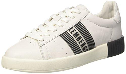 Bikkembergs Cosmos 2130, Sneaker Donna Bianco (White/Black)