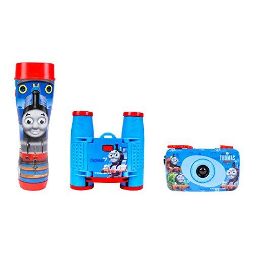 Thomas and Friends 3-Piece Adventure Kit with Camera, Flashlight, Binocular, Compass, Telescope