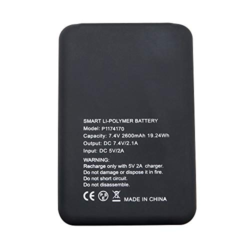 7.4V 2600Mah Rechargeable Battery for ARRIS Heating Waist Be