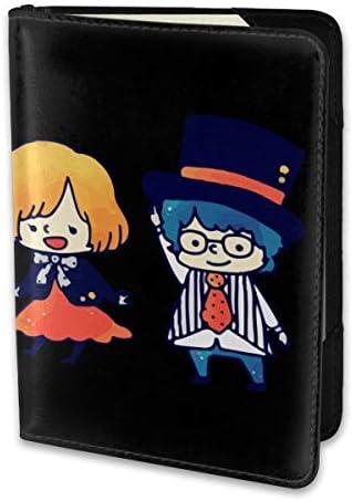 SEKAI NO OWARI 夢幻系樂隊 パスポートケース メンズ レディース パスポートカバー パスポートバッグ 携帯便利 シンプル ポーチ 5.5インチ PUレザー スキミング防止 安全な海外旅行用 小型 軽便