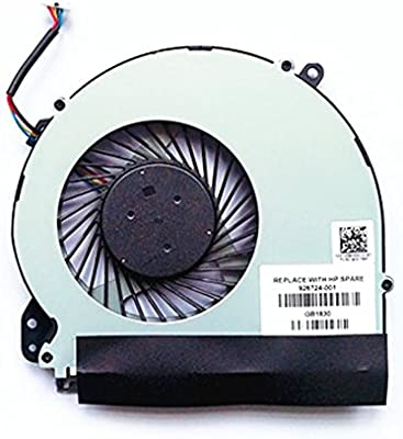 QUETTERLEE Replacement New Compatible HP 17-X 17-BS 17-Y 17-AK 17-AK000 17-AK010NR 17-AK061NR 17-AK013DX 17-BS022NR 17-bs061st 17-x051n 17-x116dx TPN-M121 Series DFS200405050T 926724-0 CPU Fan