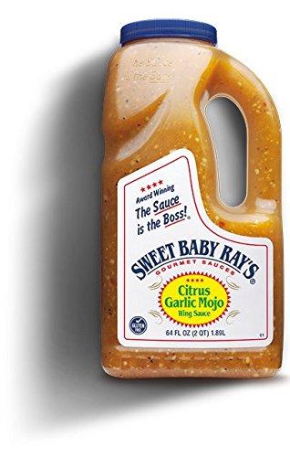 Sweet Baby Ray's Citrus Garlic Mojo Wing Sauce - 64 Oz (2 Quarts) (1) ()