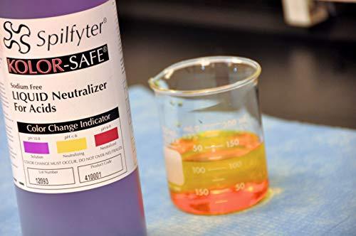 410001 - Description : Acid Neutralizer - SPILFYTER KOLORSAFE Acid and Base Neutralizers, NPS - Each(1 qt -