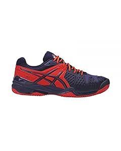 ASICS GEL BELA 5 SG AZUL ROJO E607Y 0633: Amazon.es: Deportes y ...