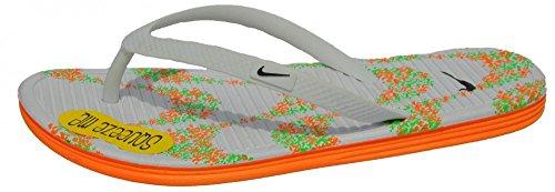 Nike, Herren Zehentrenner  ORANGE/BLANC