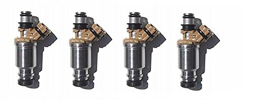 Re-manufactured OEM Denso 23250-16150 Fuel Injectors for 1993-1997 Geo Prizm, Corolla 1.6L Set of 4