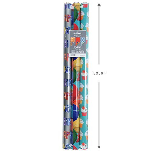 Review Hallmark 5EWR6215 Wrapping Paper
