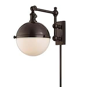 Amazon.com: Hudson Valley Stanley 1 luz de iluminación ...
