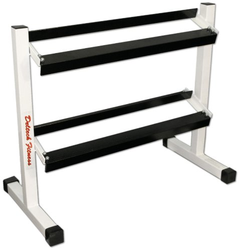 Deltech Fitness 36'' Two-Tier Dumbbell Rack by Deltech Fitness