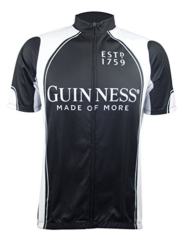 Guinness Full Zip Performance Cycling Jersey (Beer Jersey)