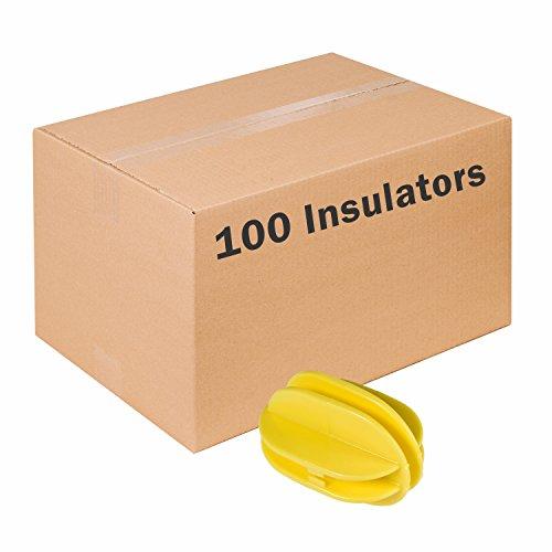 Zareba Systems ICY-Z 100 Yellow Corner Post Insulator