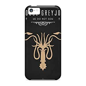 HCN2964jMmj Case Cover, Fashionable Iphone 5c Case - Game Of Thrones House Greyjoy