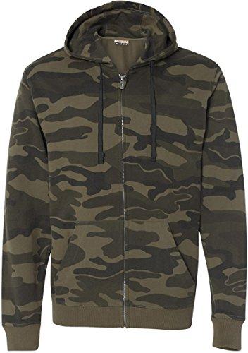 Burnside Full Zip Hooded SweatShirt B8615 product image