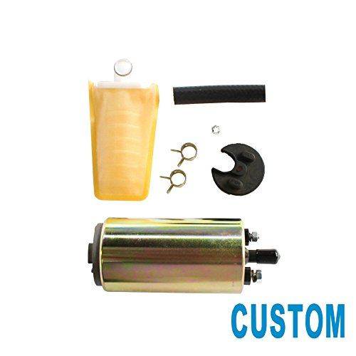 Crx Fuel Pump (CUSTONEPARTS 1pc New Electric Fuel Pump & Install Kit Fit Multiple Models E8235 FE0231)