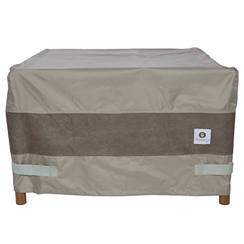 Duck Covers Elegant Rectangular Fire Pit Cover, 56″ L x 38″ W x 24″ H