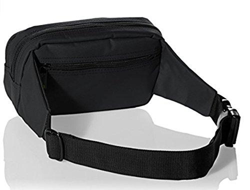 National Geograhpic Gürteltasche Bauchtasche Hüfttasche Pro schwarz 21x8x13cm Tasche 0718 06 Bowatex