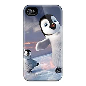 TerryMacPhail Scratch-free Phone Cases For Iphone 5/5s- Retail Packaging - 2011 Happy Feet 2
