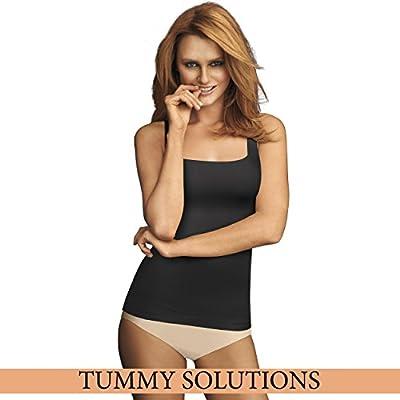 Flexees Women's Maidenform Shapewear Fat Free Dressing Tank 3 Pack Bundle by Flexees Women's IA - Shapewear