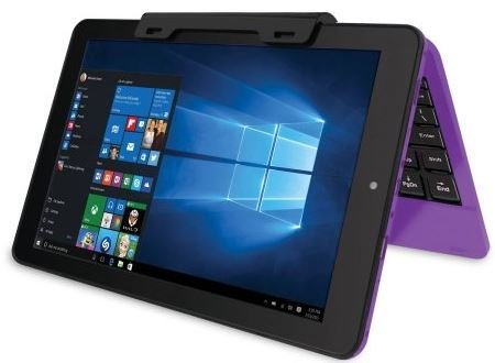 2016 RCA Cambio Purple 10.1'' 2-in-1 Tablet PC with Detachable Keyboard and Windows 10 by RCA