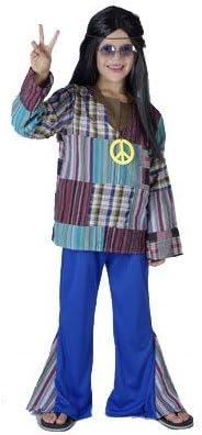 Carnaval Disfraz hippie niño 4-6 años: Amazon.es: Ropa y accesorios
