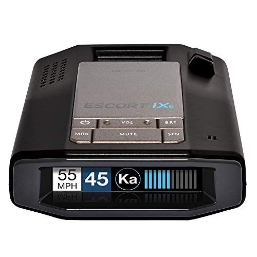 ESCORT iXc Extended Range Wi-Fi Laser Radar Detector w/Auto Learn Protection & Voice Alerts