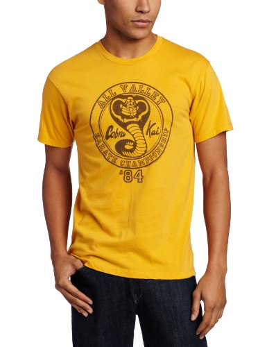 Men's Karate Kid All Valley '84 T-Shirt, Yellow