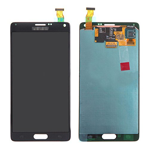 YCIL Samsung Galaxy Note 4 N910 LCD display Touch Screen Digitizer Assembly Replacement Set For Samsung Galaxy Note 4 N910 N910S N910C N910A N910V N910P N910R N910T (black) by YCIL