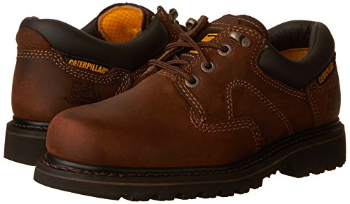 Pictures of Caterpillar Men's Ridgemont Lace-Up Shoe Dk Brown Nubuck 4