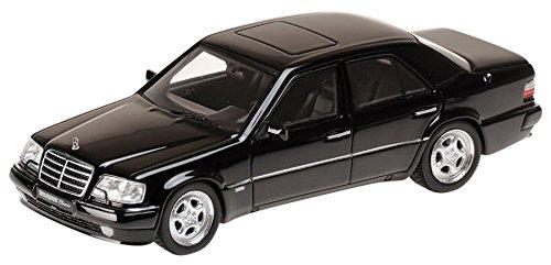 1/43 メルセデスベンツ ブラバス6.5(500E W124) E65 ブラック 437032500