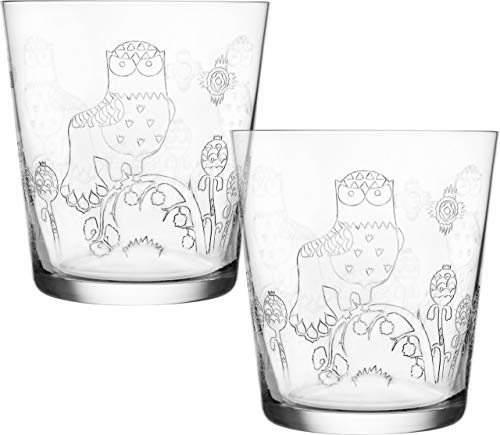 (Iittala Taika Etched Glass Tumblers (Set of 2))
