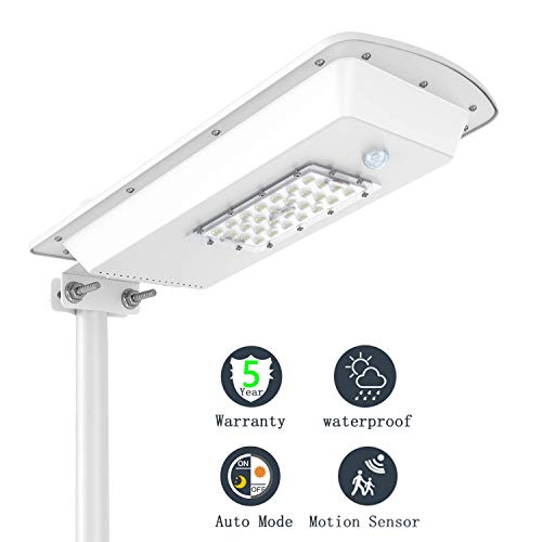 LED Solar Powered Street Lights Outdoor Motion Sensor Waterproof IP65 Garden Yard Wireless