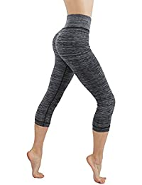 CodeFit Yoga Power Flex Dry-Fit Pants Workout Printed...