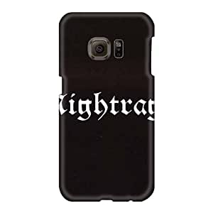 Best Hard Phone Case For Samsung Galaxy S6 With Unique Design Attractive Nightrage Band Skin AlainTanielian