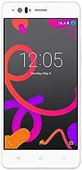 BQ Aquaris M5 - Smartphone de 5'' (4G, Wi-Fi, Bluetooth 4.0, 16 GB de memoria interna, 2 GB de RAM, Android 5.0.2 Lollipop), color blanco
