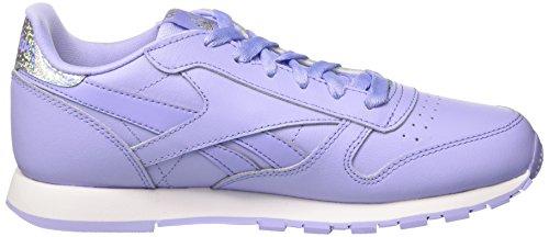 Glow Classic De Melon Pastel Zapatillas Niñas lilac Leather Para white Running Morado White sour Reebok pxBqO4B