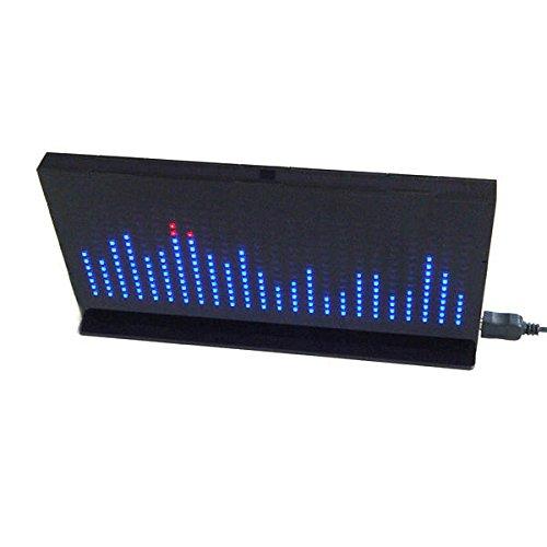Led Spectrum Kit - Diy Music Spectrum Kit - AS1424 Music Spectrum LED Flashing Kit TOP Audio Spectrum - White (Led Music Spectrum)